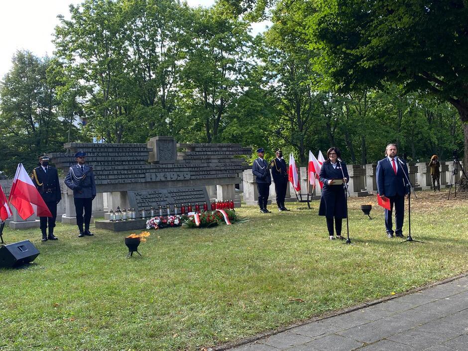 Cmentarz Ofiar Hitleryzmu na Zaspie. Fot. Michał Wlazło
