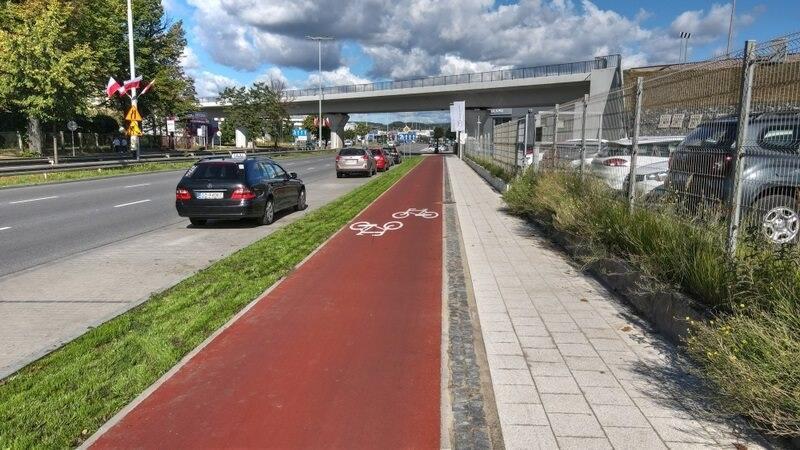 Powstał odcinek nowej drogi rowerowej