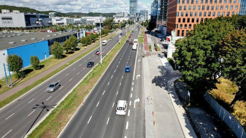 Wyremontowano 600 metrów jezdni i zbudowano 2 km drogi rowerowej