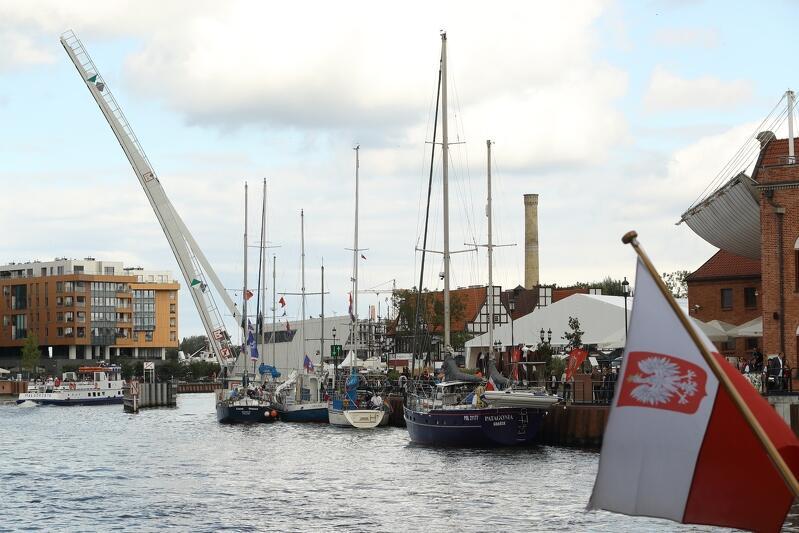 Większość uczestników tegorocznego Baltic Sail występuje pod polską banderą