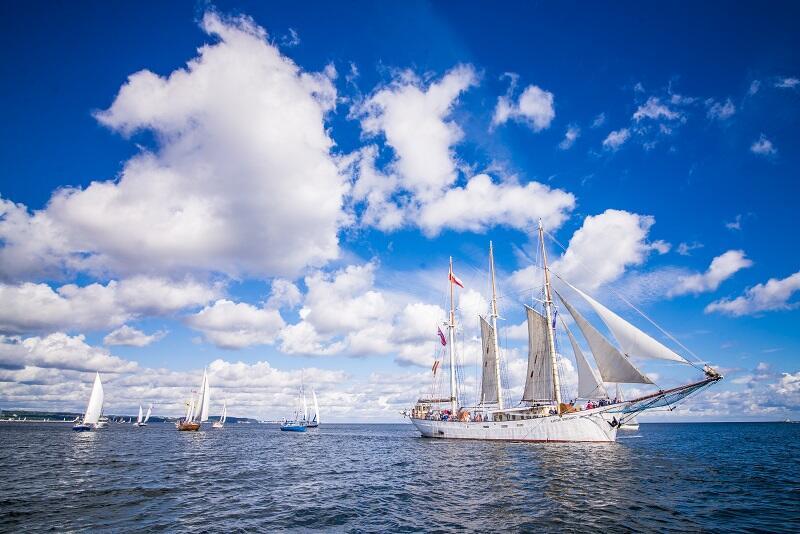 Kapitan Borchardt - największy żaglowiec Baltic Sail Gdańsk 2020