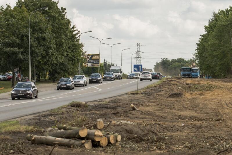 Rozbudowa ul. Kartuskiej wchodzi w kolejny etap prac