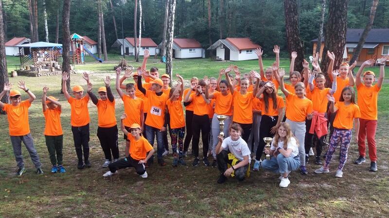 Reprezentacja młodych gdańskich lekkoatletów