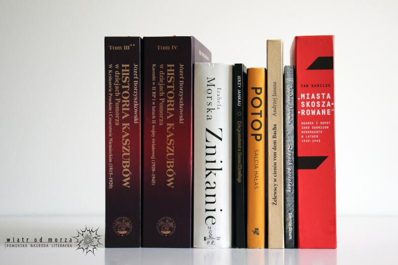 Książki nominowane do Pomorskiej Nagrody Literackiej za 2019. Zwycięzców poznamy w październiku