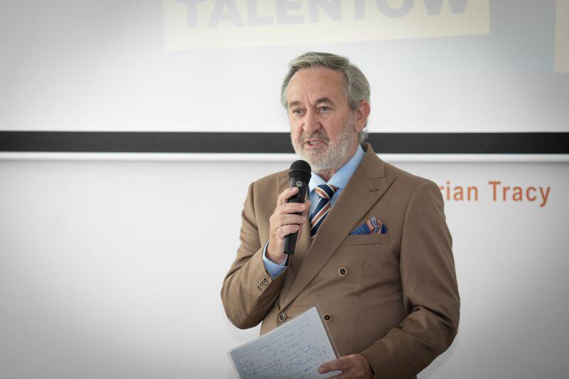 Roland Budnik, dyrektor GUP przedstawia założenia projektu