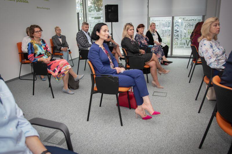 W spotkaniu inaugurującym uruchomienie nowego projektu CRT uczestniczyli m.in. szkolni doradcy zawodowi