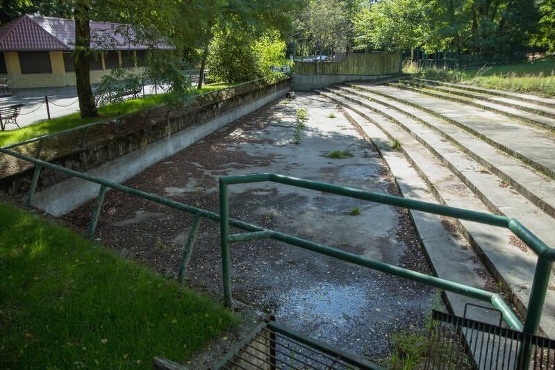 Basen w którym niegdyś przebywały hipopotamy nilowe stanie się częścią ekspozycji hipopotamów karłowatych