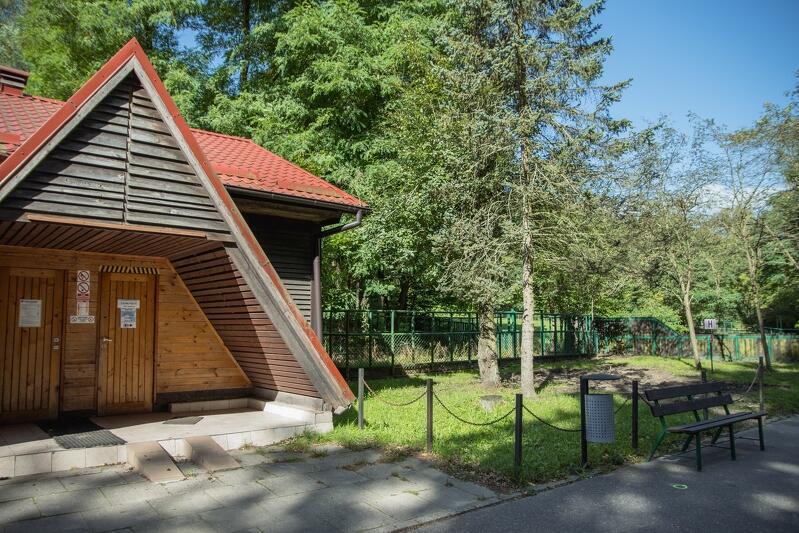 Tak wygląda stary pawilon, który po remoncie ma mieć m.in. szkalny dach i będzie otwarty dla zwiedzających