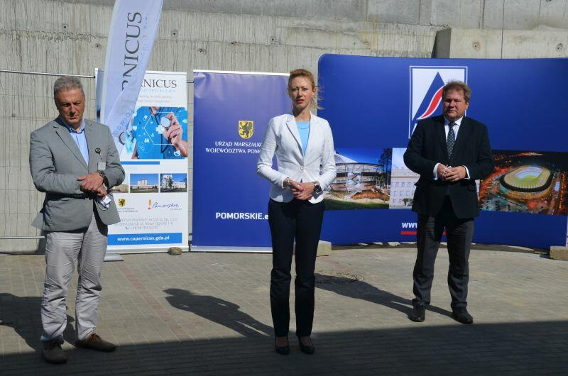 Władze województwa pomorskiego na uroczystości reprezentowała Agnieszka Kapała-Sokalska, członkini Zarządu Województwa Pomorskiego
