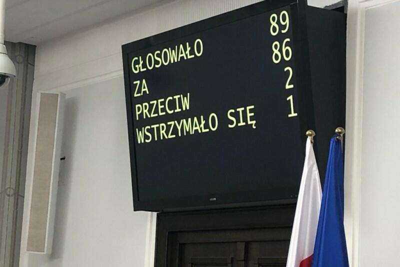 Ten wynik głosowania oznacza, że ustawę metropolitalną dla Pomorza poparli nie tylko senatorowie Koalicji Obywatelskiej, ale też większość senatorów Prawa i Sprawiedliwości. Czego brakuje do pełnego sukcesu? Uchwalenia ustawy przez Sejm