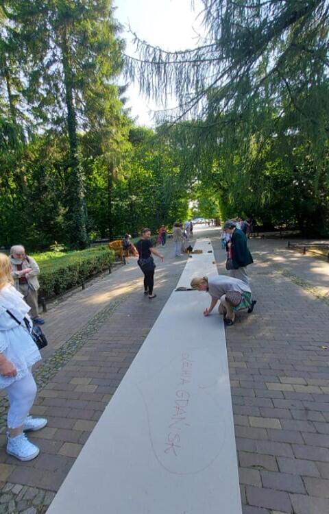 Literackie atrakcje w Parku Oliwskim
