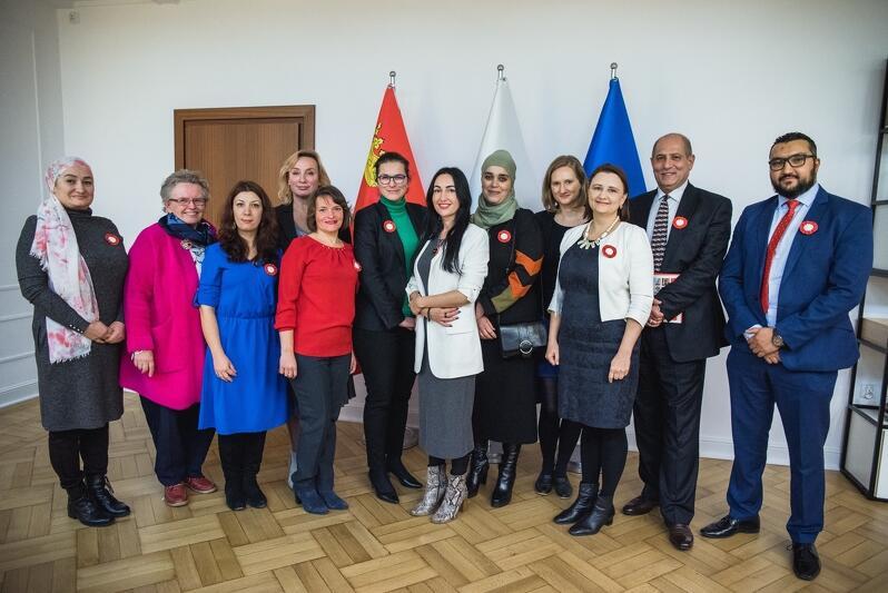 Spotkanie prezydent Gdańska Aleksandry Dulkiewicz z Radą Imigrantów i Imigrantek