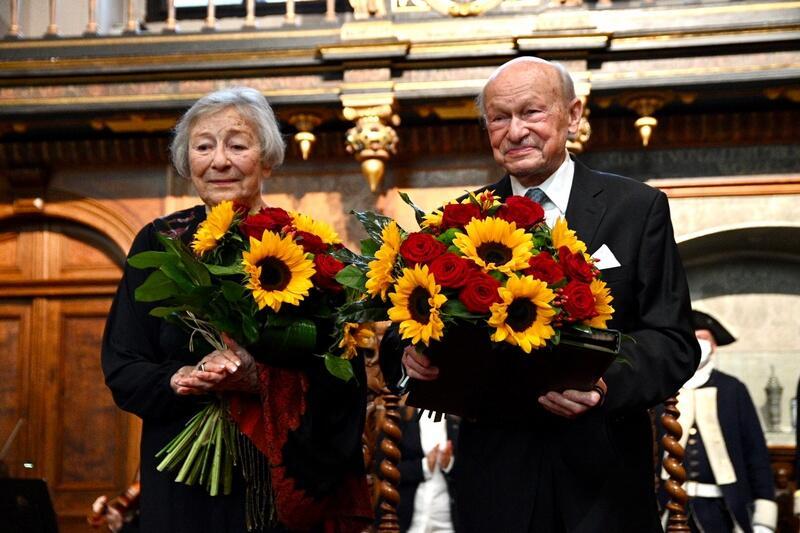 Halina Winiarska-Kiszkis i Jerzy Kiszkis