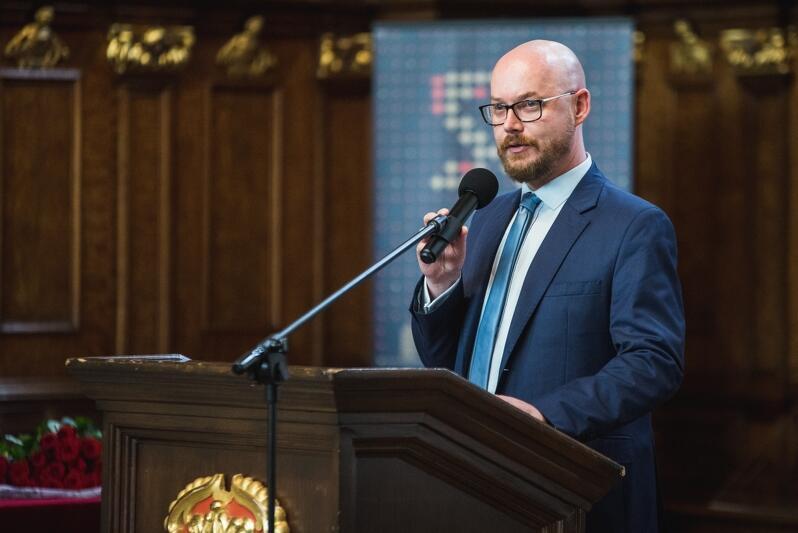 Grzegorz Kryger, zastępca ds. edukacji dyrektora Wydziału Rozwoju Społecznego Urzędu Miejskiego w Gdańsku