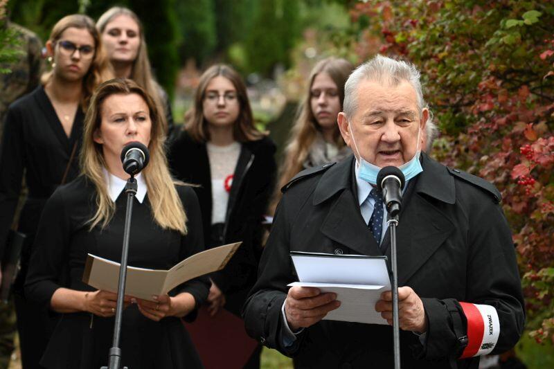 Wystąpienie Prezesa Oddziału Wojewódzkiego Związku Sybiraków Kordiana Borejko