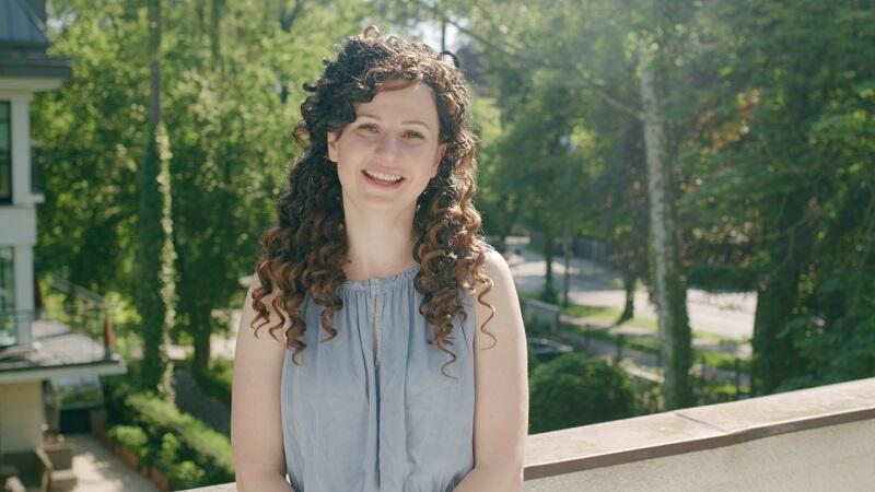Aurelia Bladowska - kadr z filmu