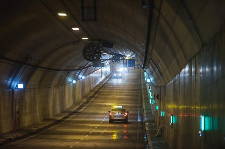 Tunel pod Martwą Wisłą budowano w latach 2013-2016