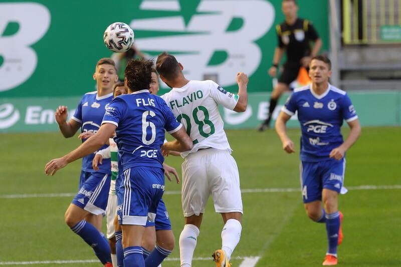 Flavio Paixao za chwilę strzeli gola na 1:0