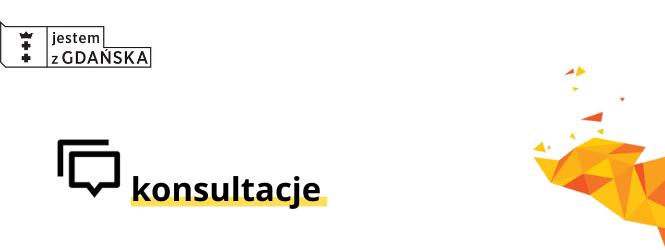 Biało-żółta grafika z napisem konsultacje