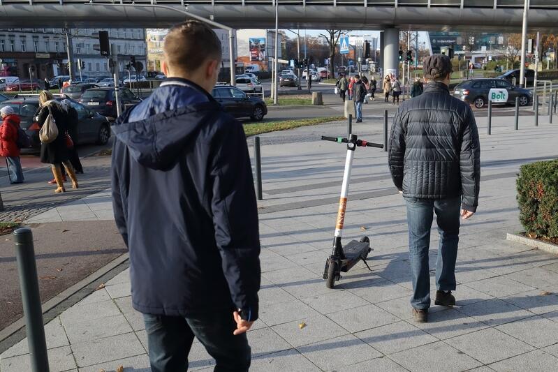 Gdańsk reguluje system użytkowania hulajnóg elektrycznych
