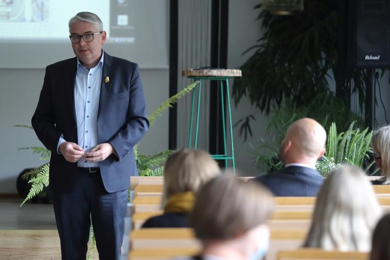 Nz. Piotr Kowalczuk- zastępca prezydenta Gdańska ds. edukacji i usług społecznych