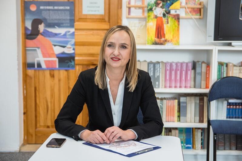 Anna Listewnik, dyrektor SP nr 57 w Gdańsku