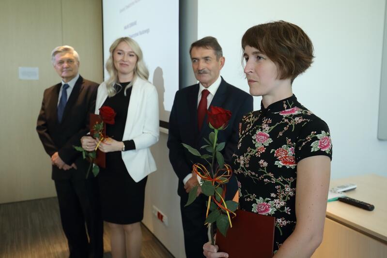 Wśród pięciorga tegorocznych laureatów są dwie panie: dr Marta Cebera i dr n. med. inż. Agata Olejniczak-Kęder
