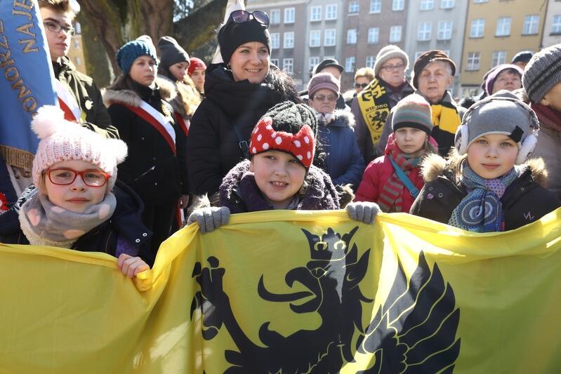 Marzec 2018 r. - Dzień Kaszubski w Gdańsku, połączony z obchodami 780-lecia pierwszej pisemnej wzmianki o Kaszubach