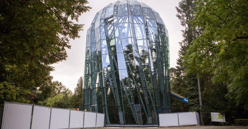 Łączny koszt realizacji szklanej rotundy wyniósł11,4 mln zł