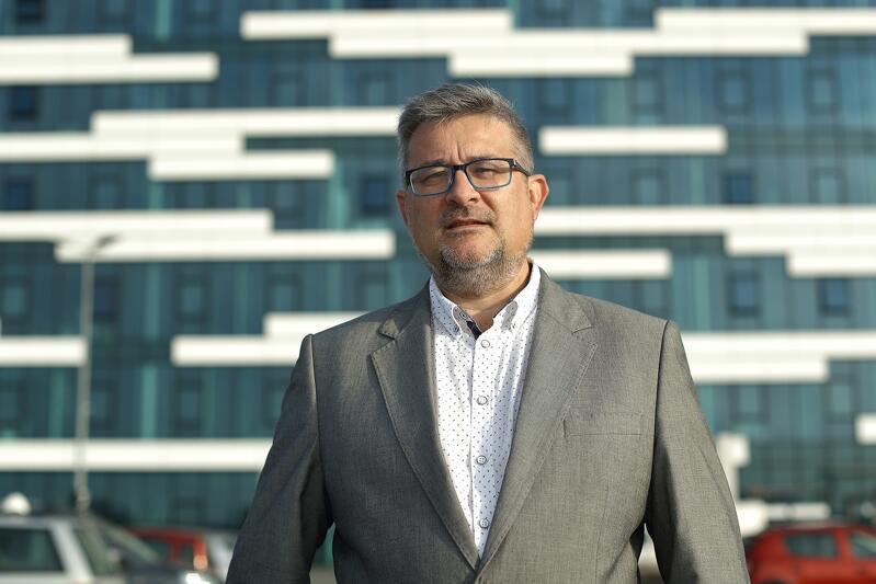Marek Ossowski prezes zarządu Gdańskiej Agencji Rozwoju Gospodarczego (InvestGDA)