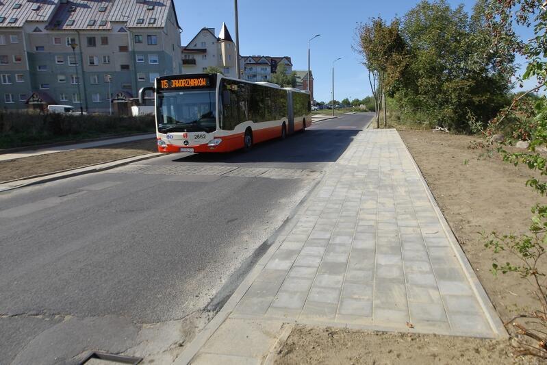 Nowe przystanki autobusowe powstały przy ul. Cygańska Góra na wysokości posesji nr 12 i 14