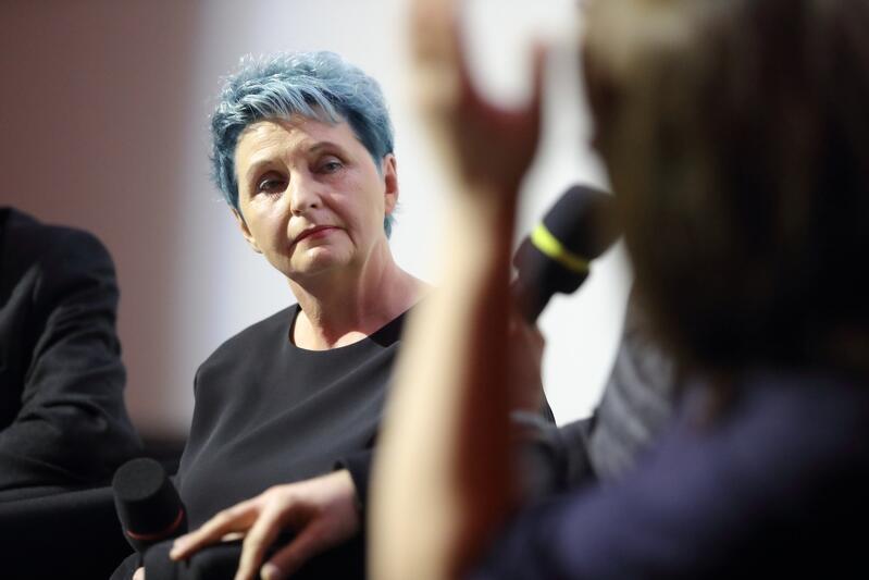 Małgorzata Żerwe na gali nagrody dla najlepszego filmu All About Freedom Festival 2018