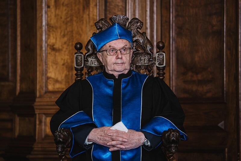 Prof. Zbigniew Grzonka, doktor honoris causa UG