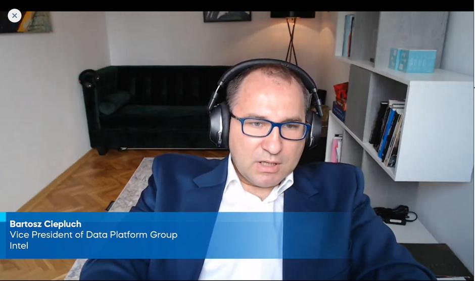 Bartosz Ciepluch, Vice President of Data Platform Group: Intel, jako globalna firma technologiczna, ma dużą odpowiedzialność i poczucie, że powinniśmy kształtować kariery ludzi