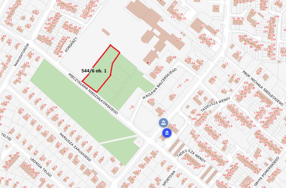W tym miejscu zaplanowano powstanie parku wytchnieniowego w Osowej