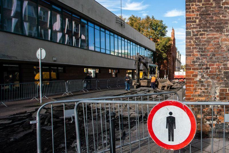 Zamknięty dla ruchu samochodowego zostanie fragment ul. Elżbietańskiej - między ulicami Na Piaski i Bielańską