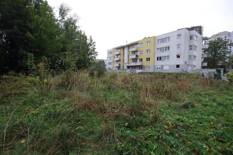 Ten teren przy ul. Piecewskiej zostanie uporządkowany i atrakcyjnie zagospodarowany