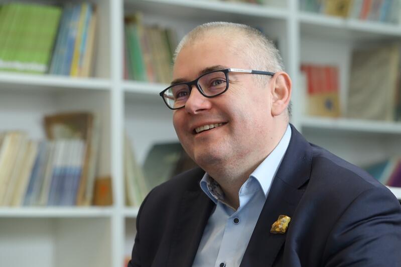 Piotr Kowalczuk zastępca prezydent Gdańska ds. edukacji i usług społecznych