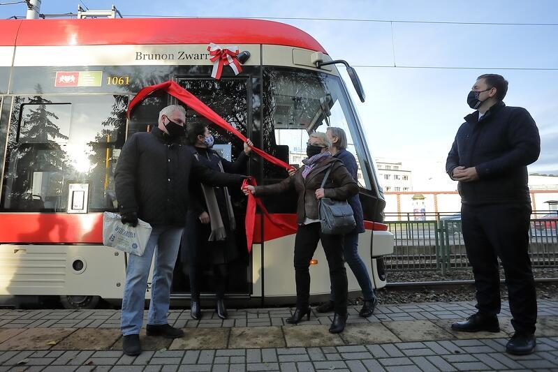 W Gdańsku od teraz są już 54 tramwaje mające swoich patronów