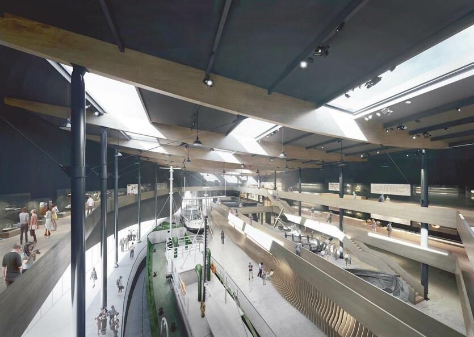 Budowa Muzeum Archeologii Podwodnej i Rybołówstwa Bałtyckiego potrwa kilka lat. Otwarcie zaplanowane jest na lato 2024 roku