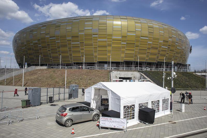 Szpital polowy dla pacjentów covidowych nie powstanie na Stadionie Energa Gdańska
