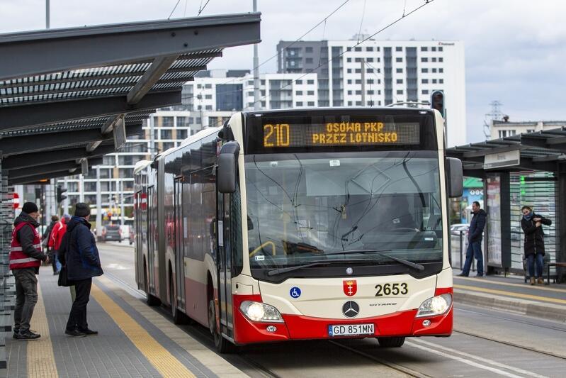 Linia autobusowa nr 210 to jedna z najdłuższych w Gdańsku