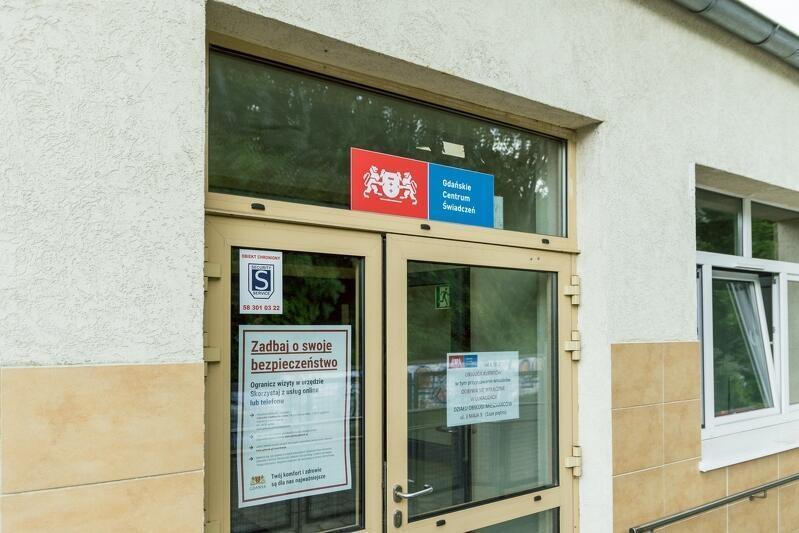 Nowa siedziba Działu Obsługi Mieszkańców Gdańskiego Centrum Świadczeń - od 2 listopada 2020 roku