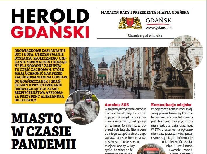 Okładka Herolda Gdańskiego nr 3/2020
