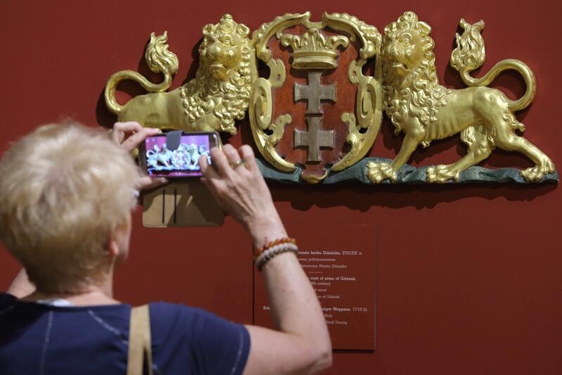 Wernisaż wystawy czasowej `Pod królewską koroną` w Muzeum Gdańska, maj 2017 roku