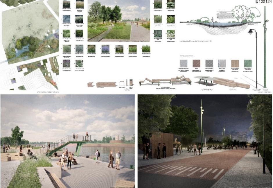 To zwycięska wstępna koncepcja tego, jak może wyglądać plac u zbiegu ulic Wyzwolenia i Władysława IV