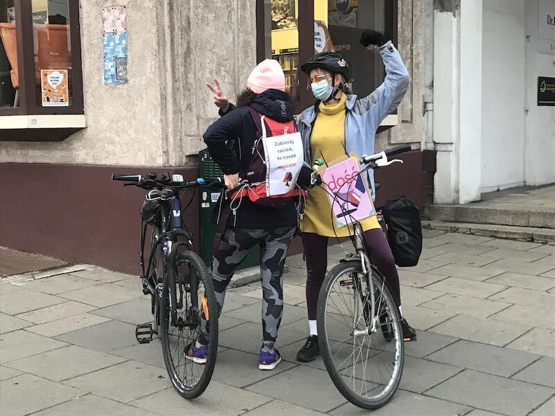 Protestujących rowerzystów można już było spotkać na gdańskich ulicach, ale w sobotę 31 października po raz pierwszy odbędzie się tak liczny przejazd jednośladów