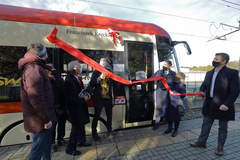 Franciszek Kręcki to kolejny patron jednego z gdańskich tramwajów