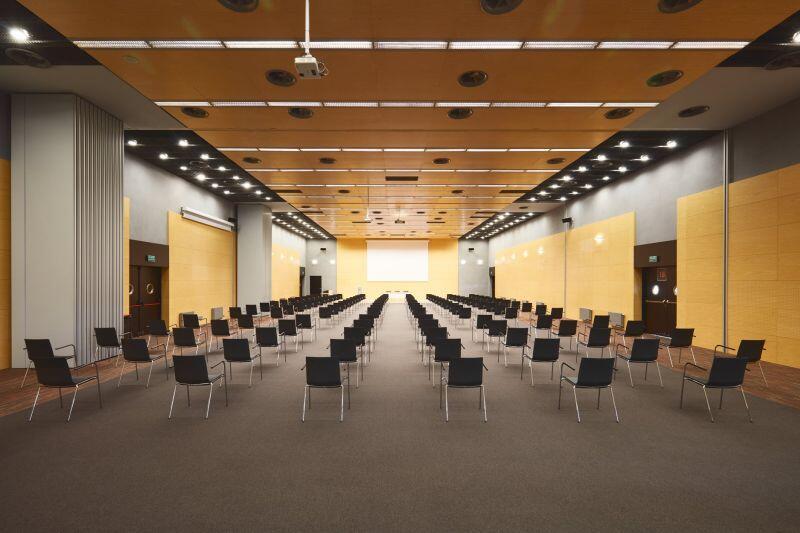 Jedna z sal w centrum konferencyjnym