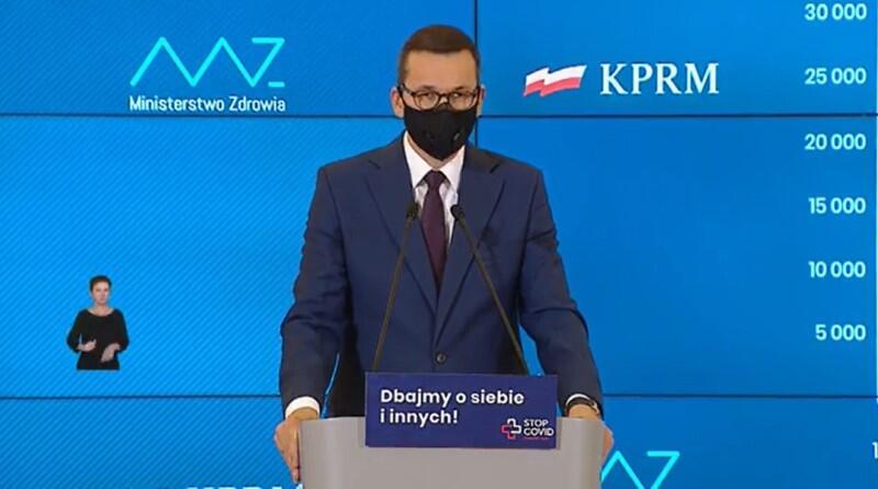 W środę, 4 listopada 2020 roku premier Mateusz Morawiecki przedstawił nowe obostrzenia rządu związane z pandemią